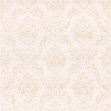 Vincent Pearl Damask Silk
