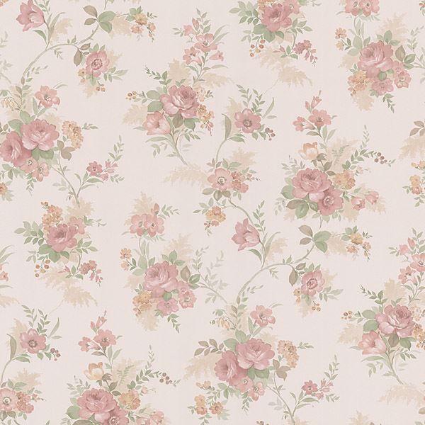 Yvette Salmon Watercolour Floral