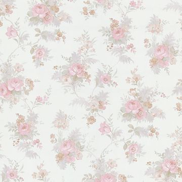 Yvette Pink Watercolour Floral