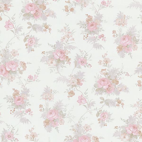 Yvette Pink Watercolour Floral