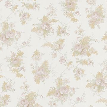 Yvette Taupe Watercolour Floral