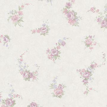 Carmen Lavender Floral Toss