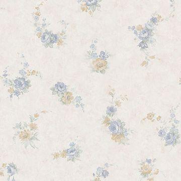 Carmen Blue Floral Toss