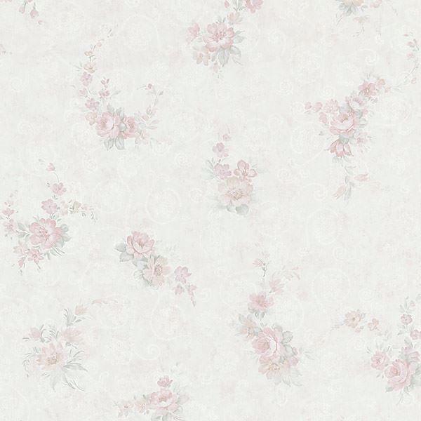 Carmen Mauve Floral Toss