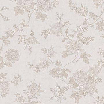 Emmylou Light Grey Floral Trail