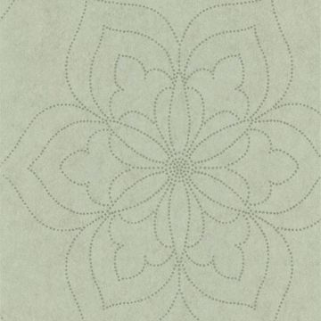 Charlotte Silver Modern Floral