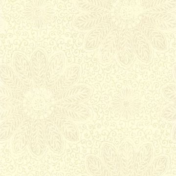 Tribe Sage Modern Floral Scroll