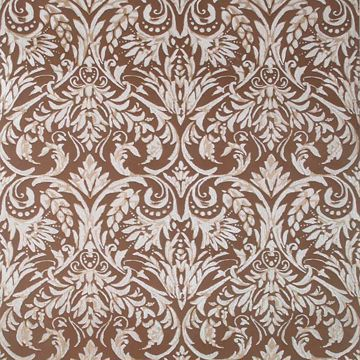 Winston Brown Damask