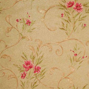 Kallista Brass Floral Scroll