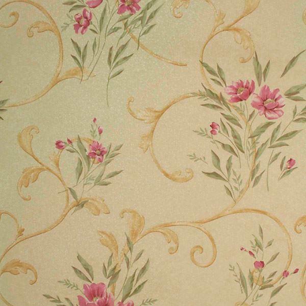 Kallista Gold Floral Scroll