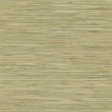 Madagascar Olive Faux Grasscloth
