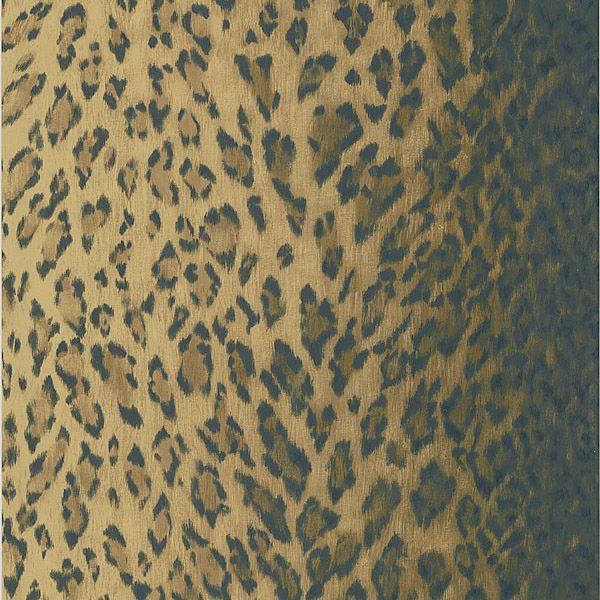 Leopard Dark Brown Animal Print