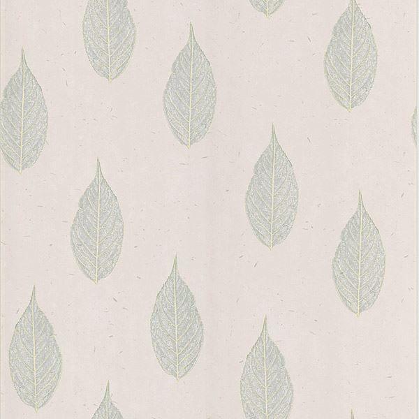 Madhya Light Grey Leaves