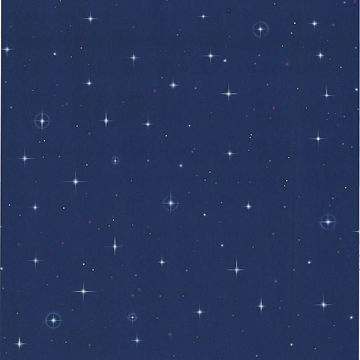 Night Sky Blue Stars