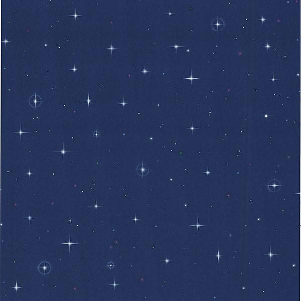 Night Sky Blue Stars