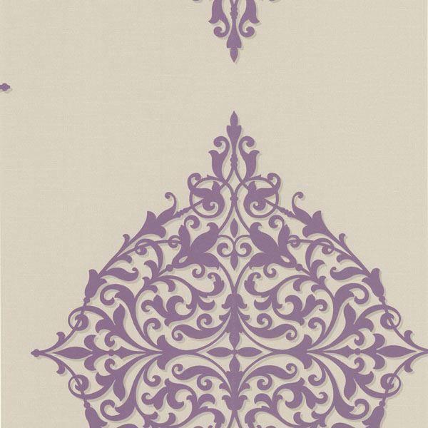 Pastiche Purple Classical Motif