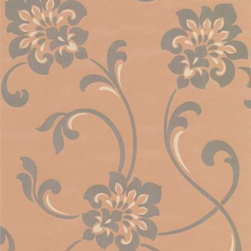 Sharon Copper Jacobean Floral