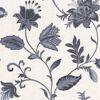 Heritage Blue Jacobean Flower