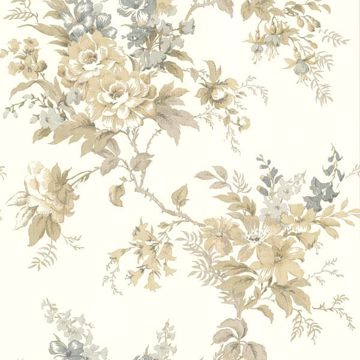 Lush Taupe Floral Trail