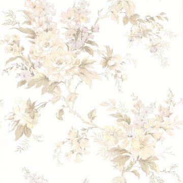 Lush Pastel Floral Trail