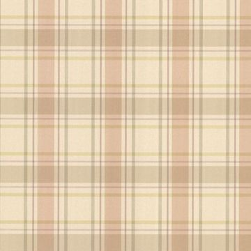 Grand Plaid Peach Plaid