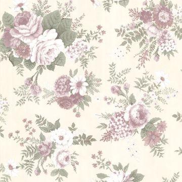Rosa Mauve Floral Medley