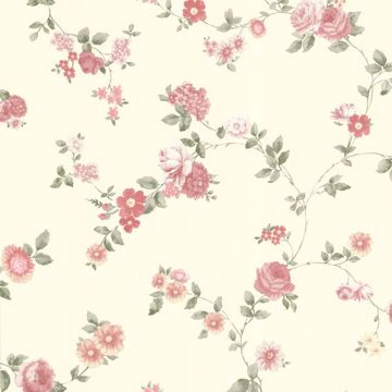 Rosetta Pink Floral Trail