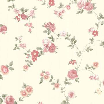 Rosetta Pink Floral Trail