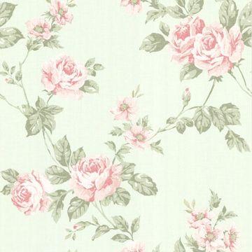 Bloom Mint Floral Trail