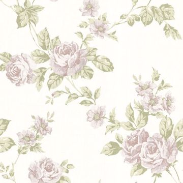 Bloom Mauve Floral Trail