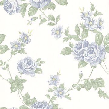 Bloom Blue Floral Trail