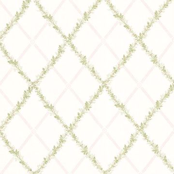 Heirloom Blush Harlequin Trellis