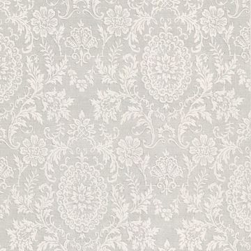 Ornament Grey Damask Motif