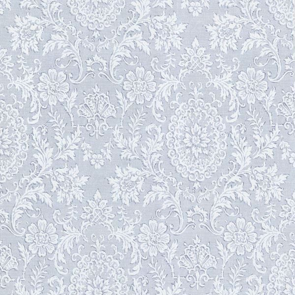 Ornament Blue Damask Motif