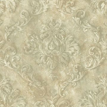 Neutral Textured Scroll