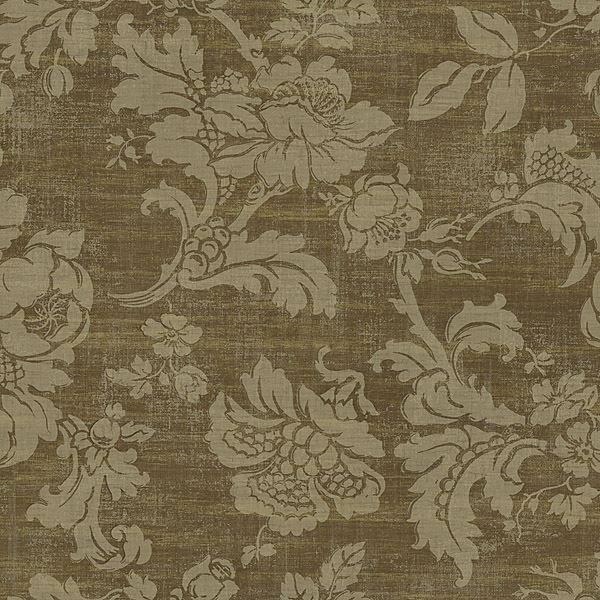 Brown Tonal Jacobean