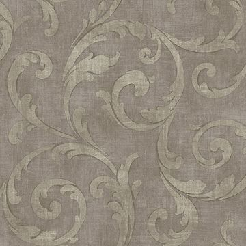 Mauve Large Scroll