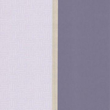 Purple Geo Square Stripe
