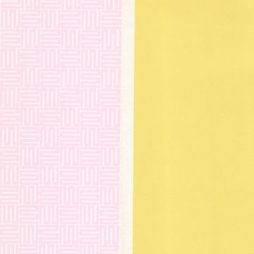 Yellow Geo Square Stripe