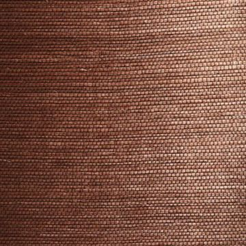 Xiu Dark Brown Grasscloth