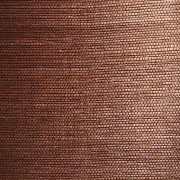 Xiu Dark Brown Grasscloth