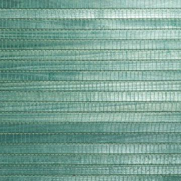 Kumi Green Grasscloth