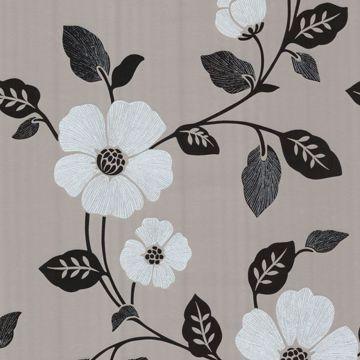 Zync Silver Modern Floral