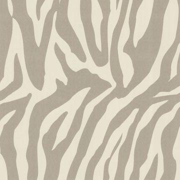 Zebbie Taupe Zebra Print