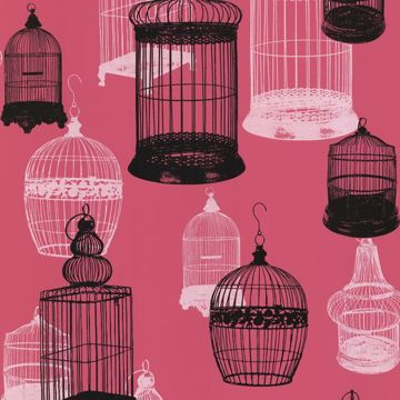 Avian Pink Bird Cages