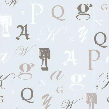 Manuscript Light Blue Letter Font