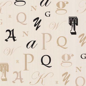 Manuscript Beige Letter Font