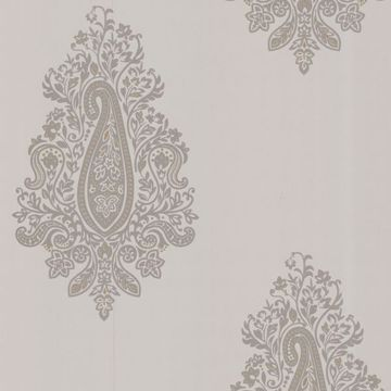 Dynasty Taupe Paisley
