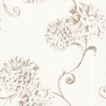 Deliah Pearl Watercolor Dahlia