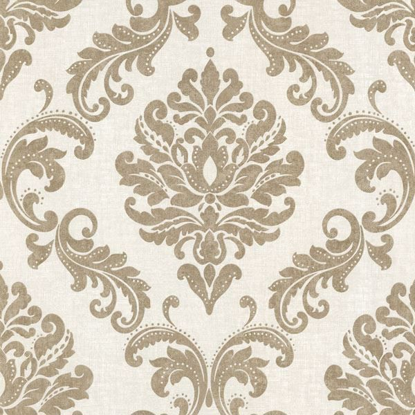 Sebastion Gold Damask